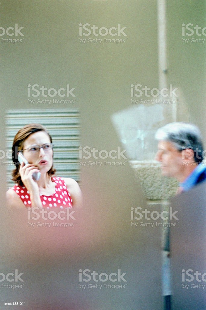 Behind closed doors royalty-free stock photo