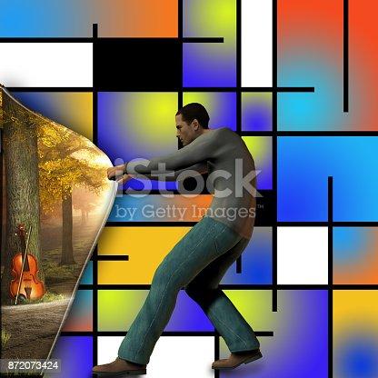 istock Behind the art 872073424