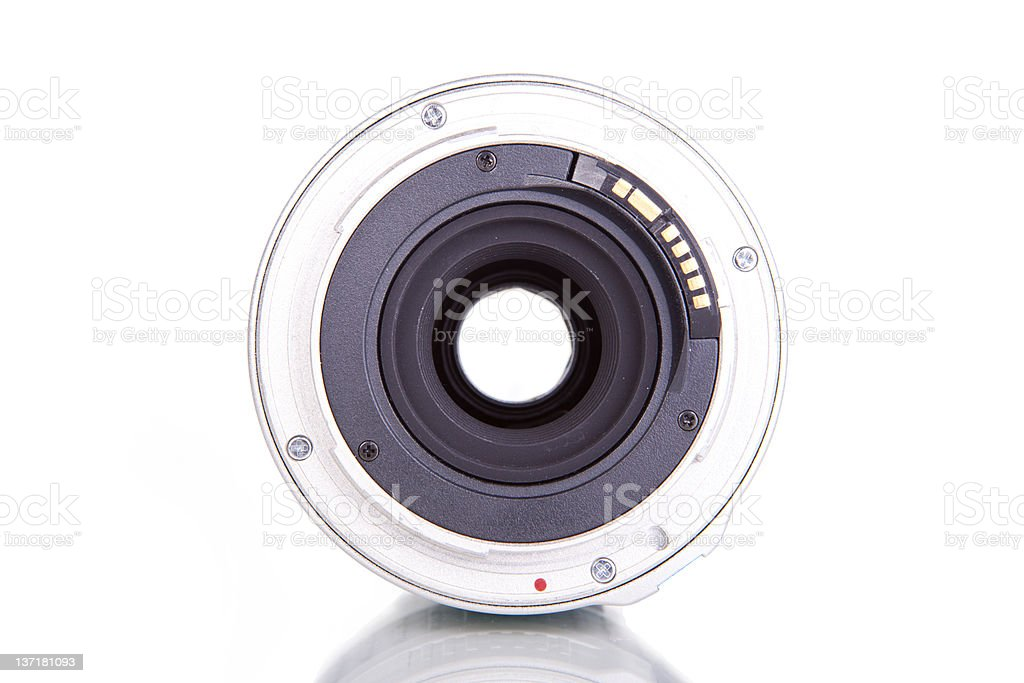 behind the lens stock photo