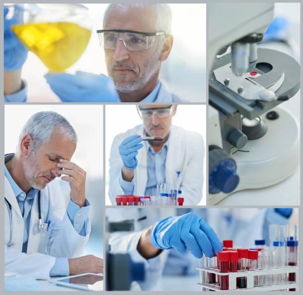 behind the scenes of an amazing discovery - engenharia química imagens e fotografias de stock