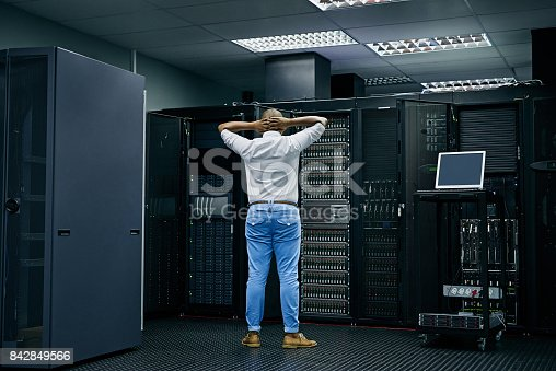 802303672 istock photo Behind the scenes of an error message 842849566
