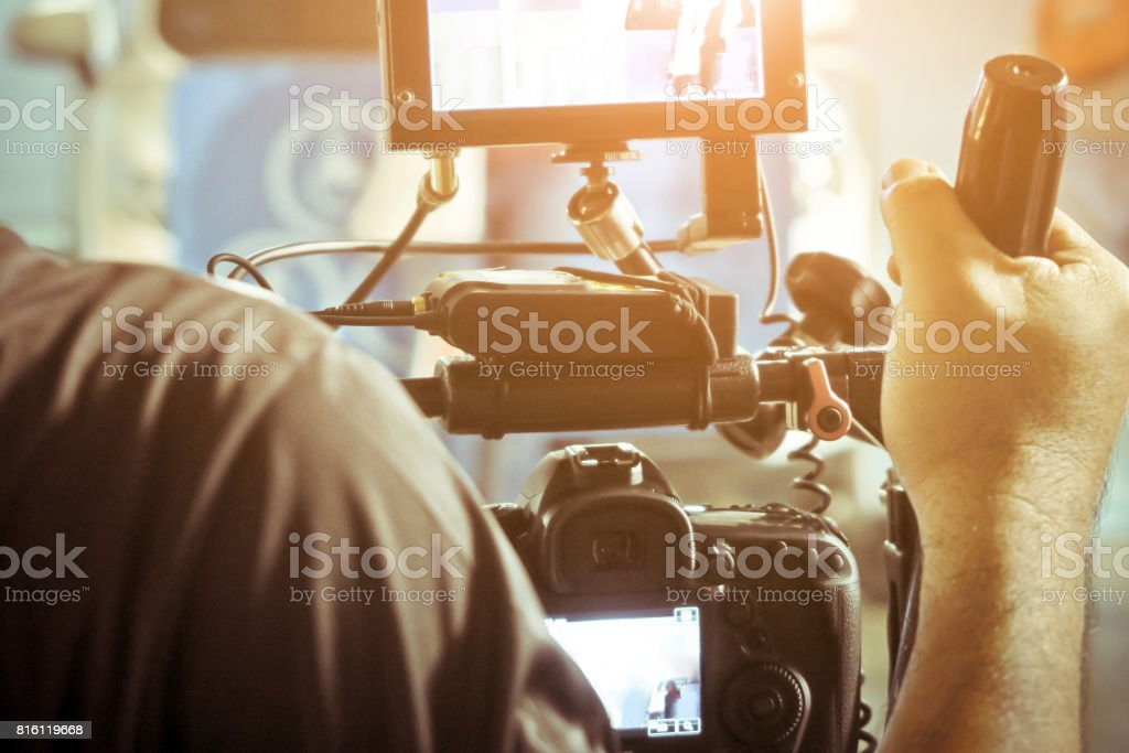 behind the scenes royalty-free stock photo