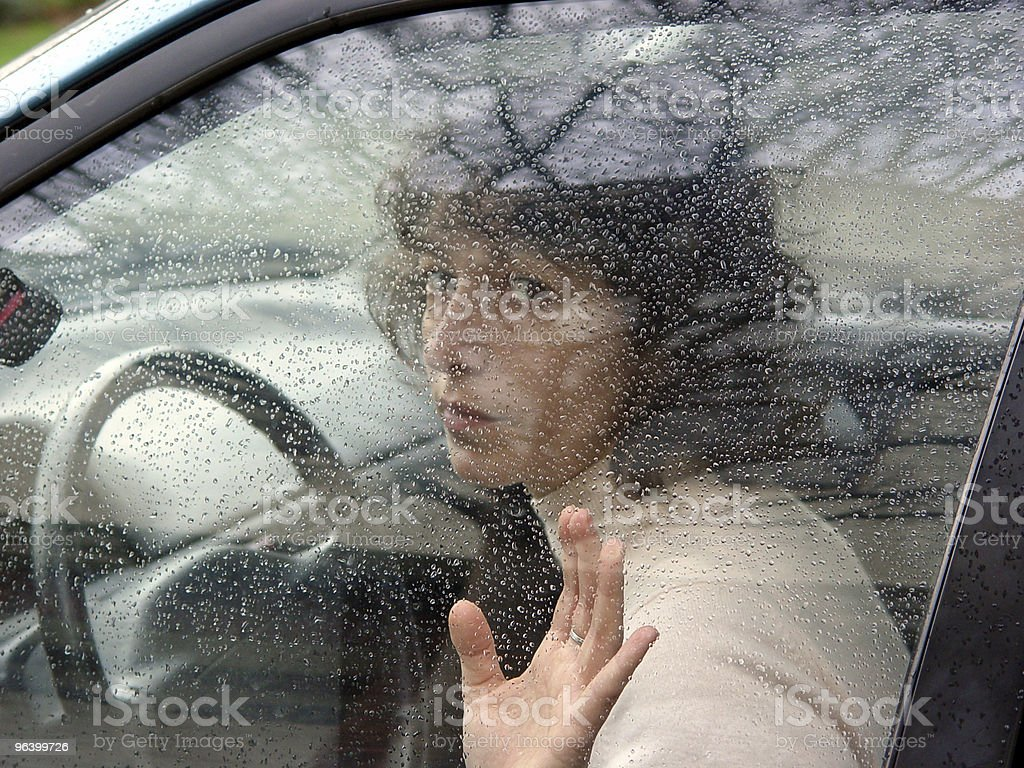 Behind the wheel - Royalty-free Adult Stock Photo
