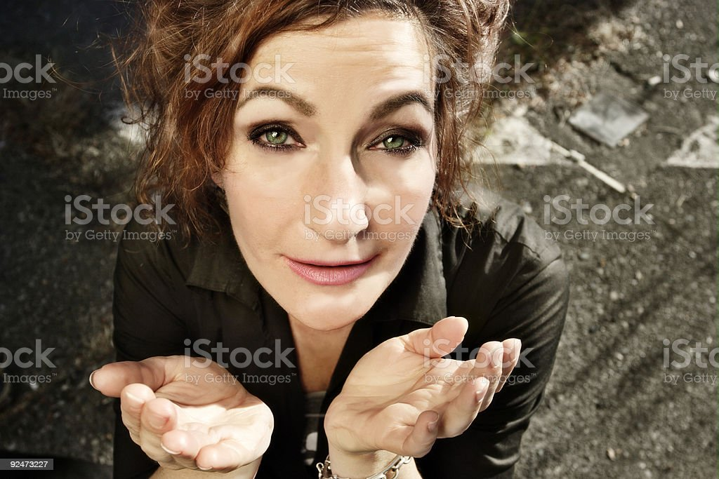 Behold royalty-free stock photo