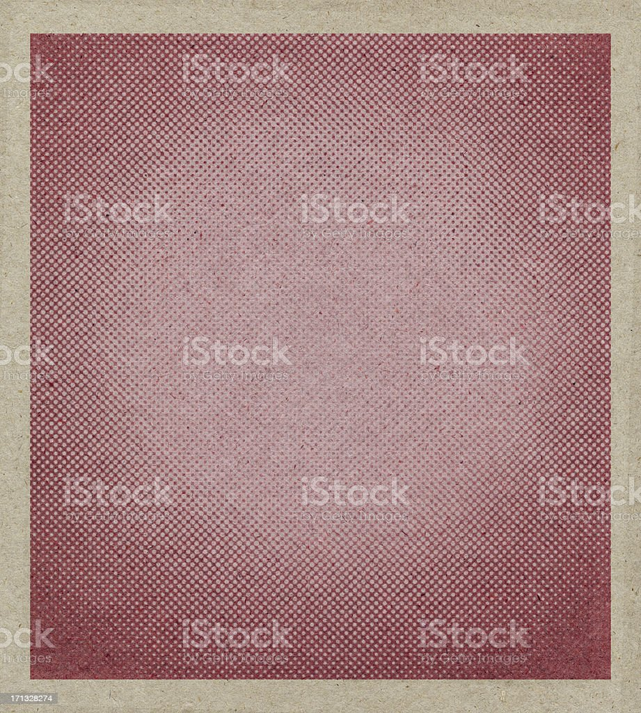 beige antique paper with halftone royalty-free stock photo
