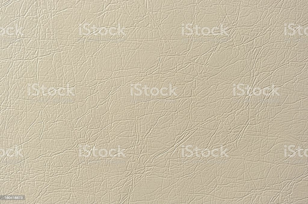 Beige Artificial Leather Background Texture royalty-free stock photo
