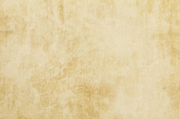 beige background old grunge paper, retro, stains, scratches - beige background stock photos and pictures