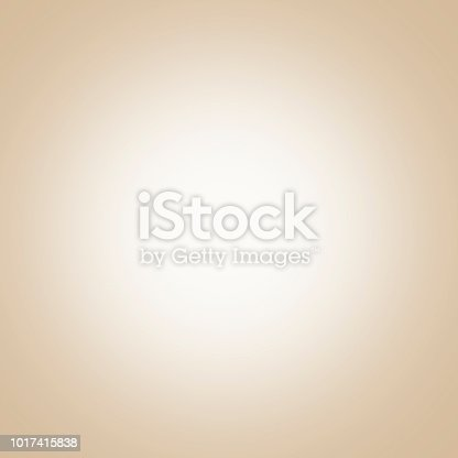 istock Beige background with light center, gradient 1017415838