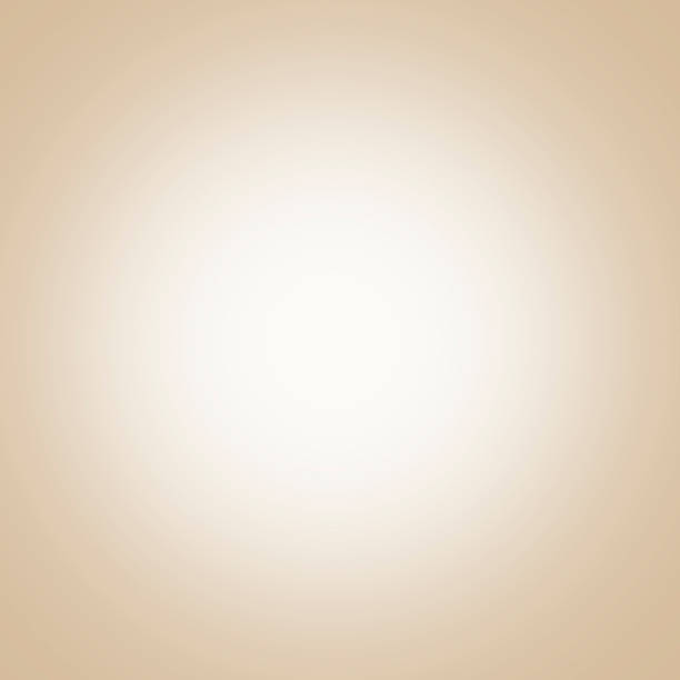 beige background with light center, gradient - beige background stock photos and pictures