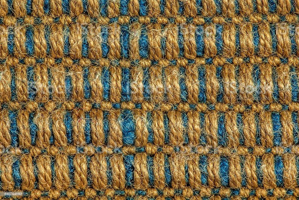 beige blue wool texture stock photo