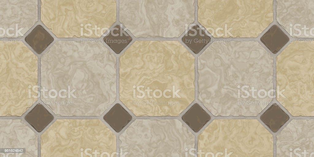 Beige Braun Nahtlose Klassische Fußboden Fliesen Textur ...
