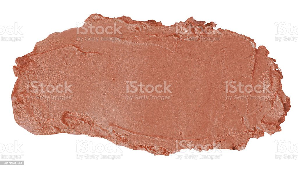 Beige Brush Stroke royalty-free stock photo