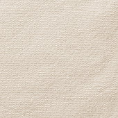 Beige canvas burlap texture background in light sepia brown with cotton fabric pattern for arts painting backdrop, sacking and bagging design