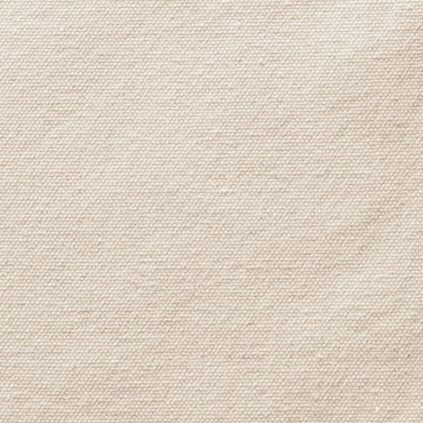 beżowe płótno burlap tekstury tła w jasny sepia brązowy z tkaniny bawełnianej wzór na tle malarstwa artystycznego, wyzwiska i bagging projektowania - beżowy zdjęcia i obrazy z banku zdjęć