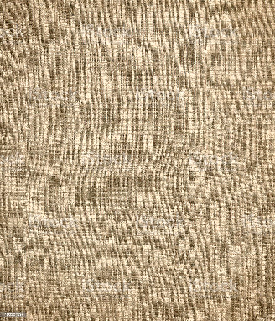 Beige canvas texture with vignette. royalty-free stock photo