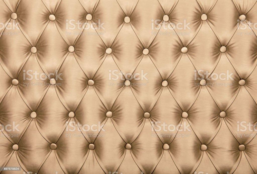 Fotografía de Textura De Tapicería De Tela Capitone Beige Tufted y ...