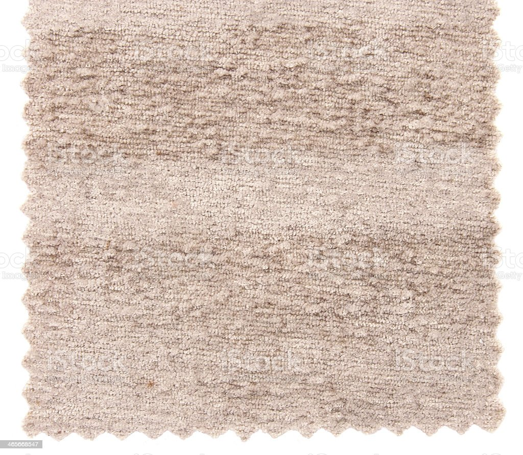 Beige carpet samples texture royalty-free stock photo
