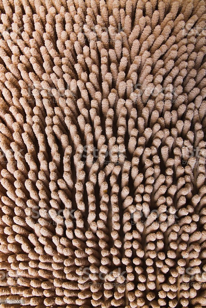 beige carpet texture, close-up royalty-free stock photo