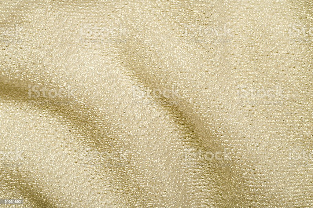 Beige Cloth Texture royalty-free stock photo