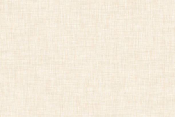 ベージュ色の自然なパターンのキャンバスの背景 ストックフォト