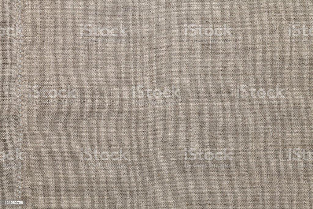 Beige Cotton Cloth Background stock photo