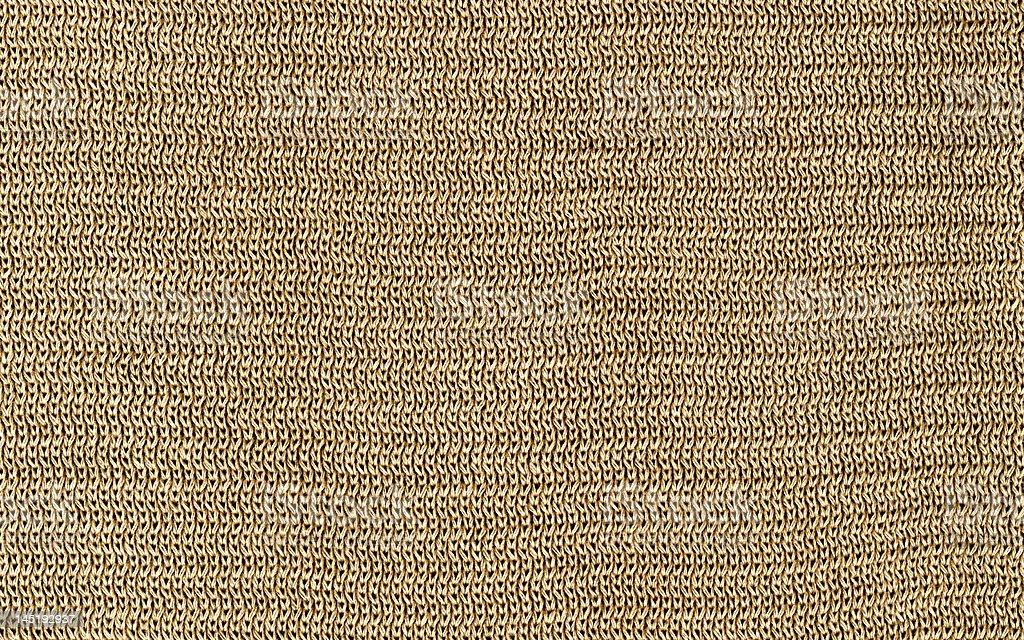 Beige Cotton Texture XXL royalty-free stock photo