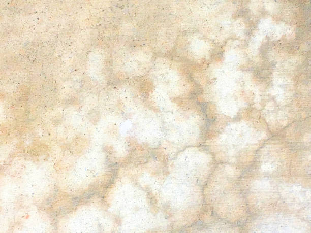 beige cracked pattern concrete abstract background - beige background stock photos and pictures