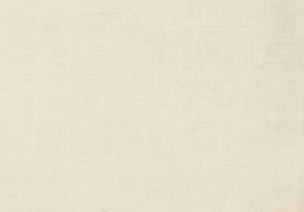 beige fabric background - lona têxtil imagens e fotografias de stock