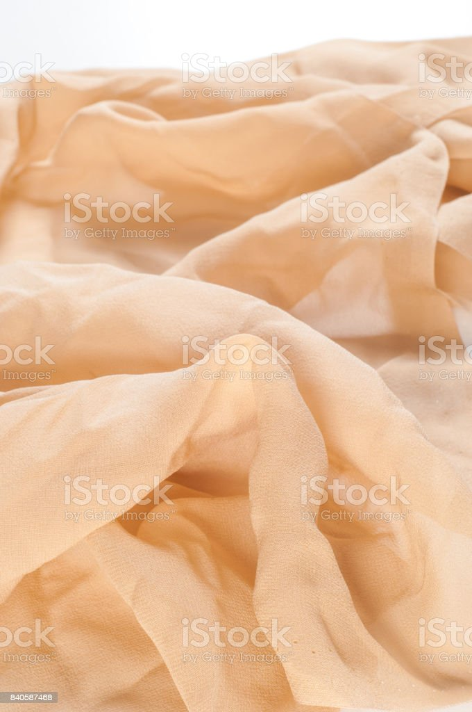 Beige Fabric Texture Easy Transparent Fabric For Backgrounds Stock