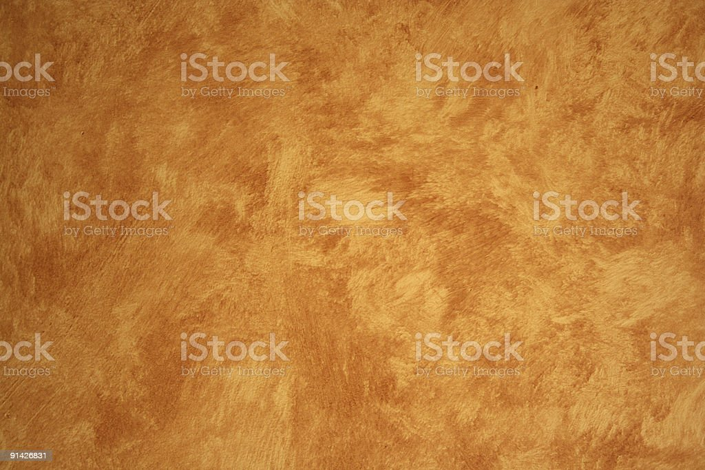 Beige Faux Painted wall stock photo