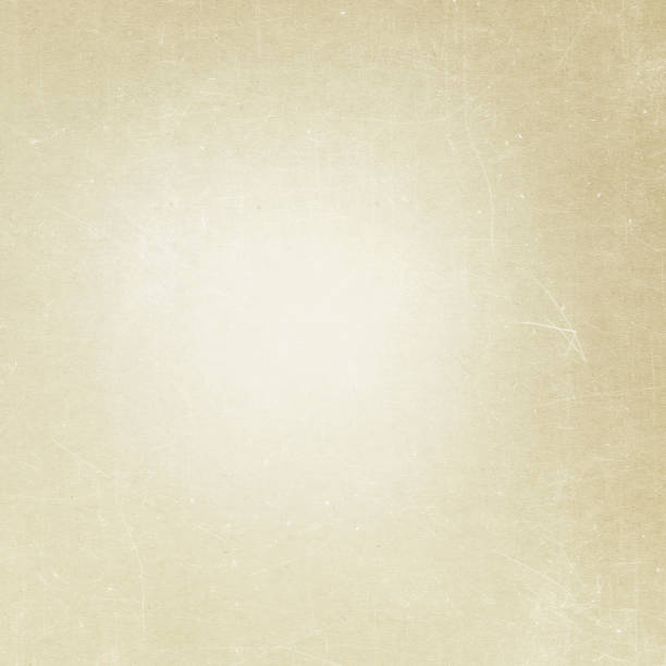 beige grunge background, old paper texture, dust, scratch, vintage, retro, blank, page - beige background stock photos and pictures