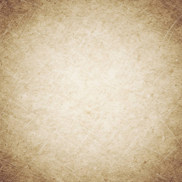 beige grunge background, old paper texture, dust, stains, scratches - beige background stock photos and pictures