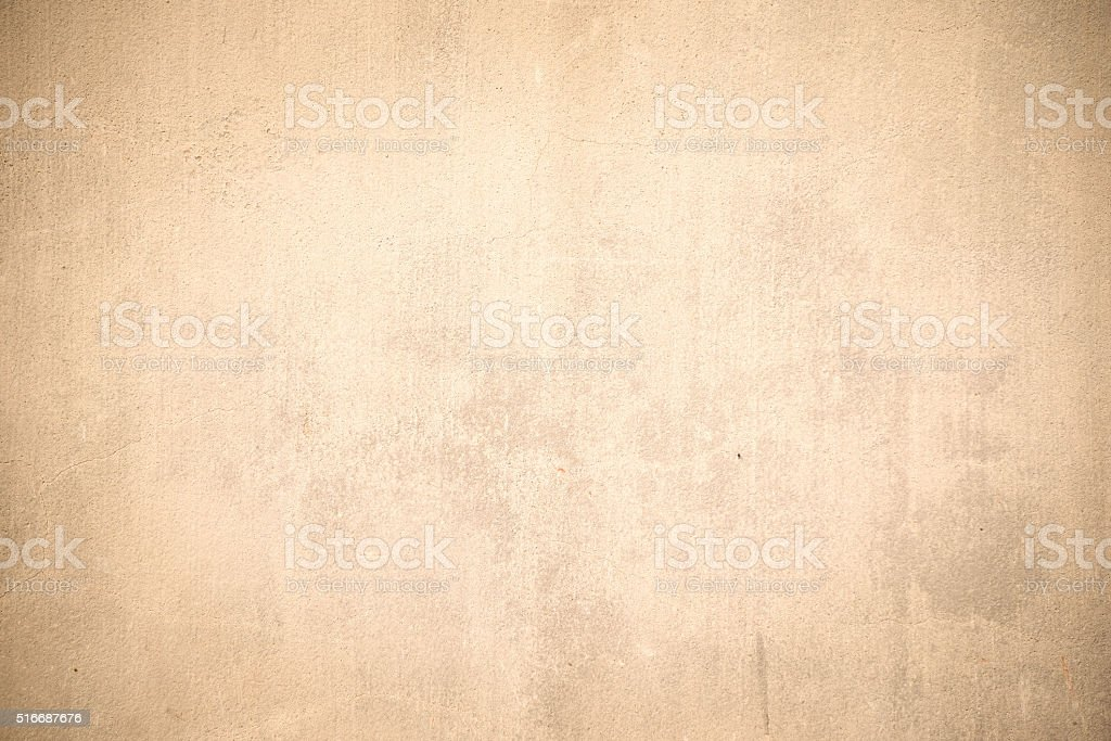 Beige grunge concrete wall texture stock photo