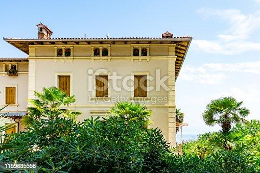 detail of apartment in Lovran, Croatia