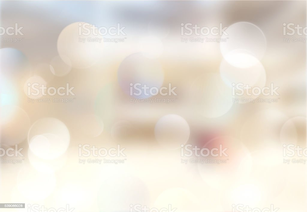 Beige indoor blurred image background. stock photo