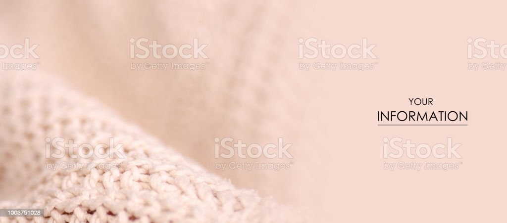 4bf49d56ebba0c Beige knitted sweater texture fabric textile macro pattern royalty-free  stock photo