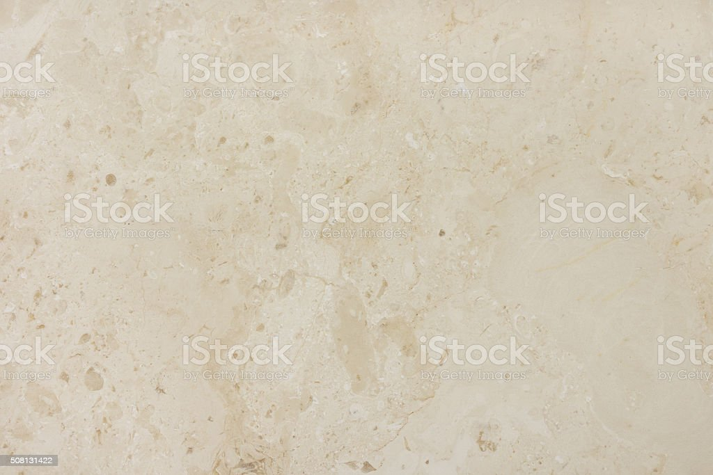 Beige marble background with natural pattern. stock photo