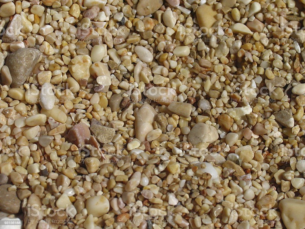 Beige pebbles background 01 royalty-free stock photo
