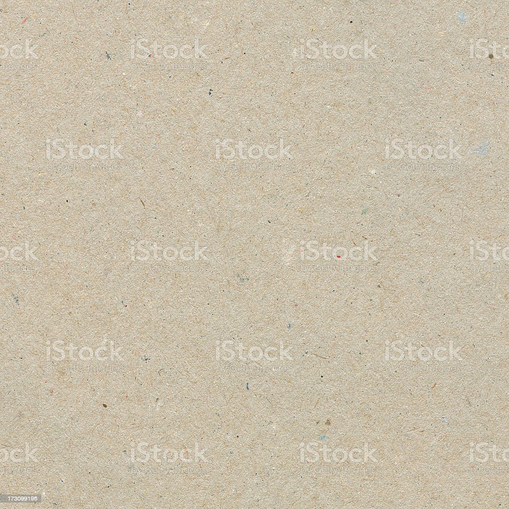 Beige recycled paper with texture grains stock photo