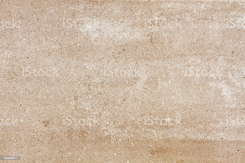 Beige stone plate with grain royalty-free stock photo