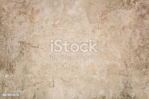 istock Beige stucco texture background 697853826