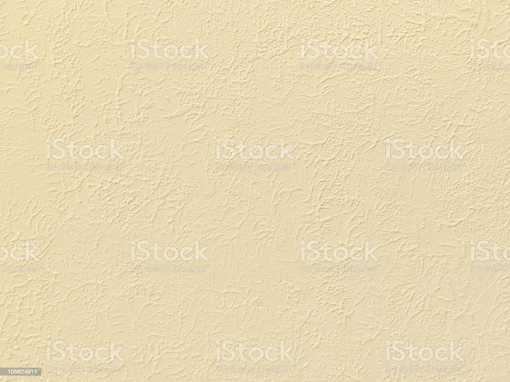 Beige Stucco Texture stock photo