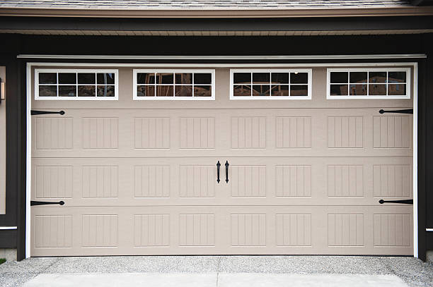 Royalty free two car garage pictures images and stock photos istock - Garage auto h strasbourg ...
