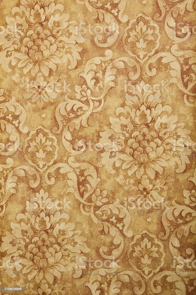 Beige Vintage Old Wallpaper stock photo