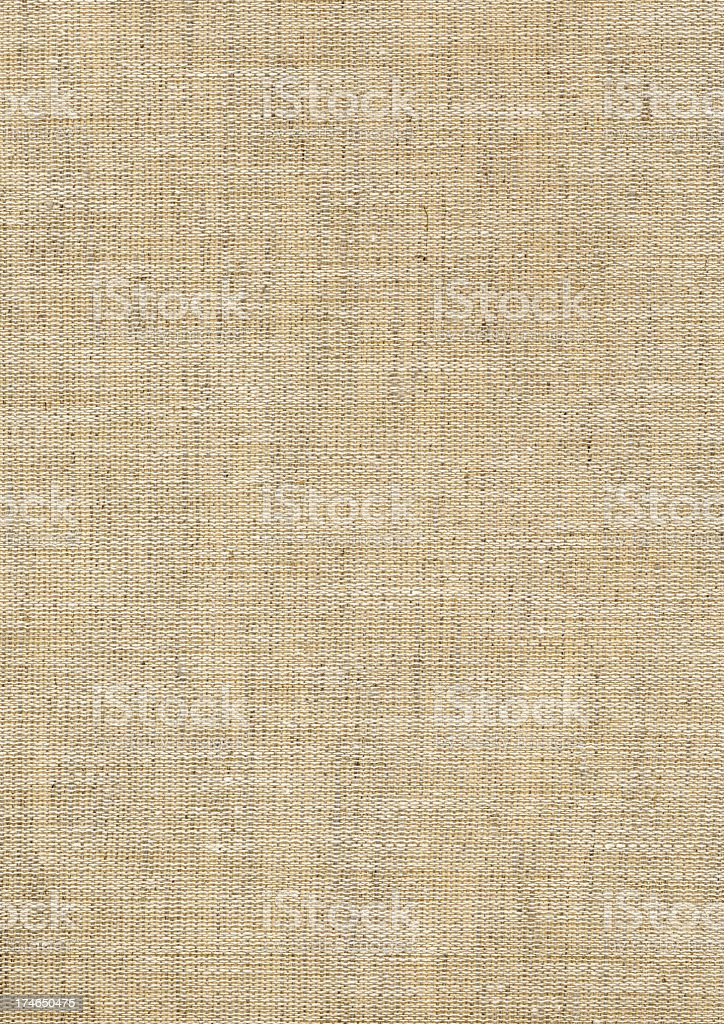 Beige woven book cover texture background royalty-free stock photo