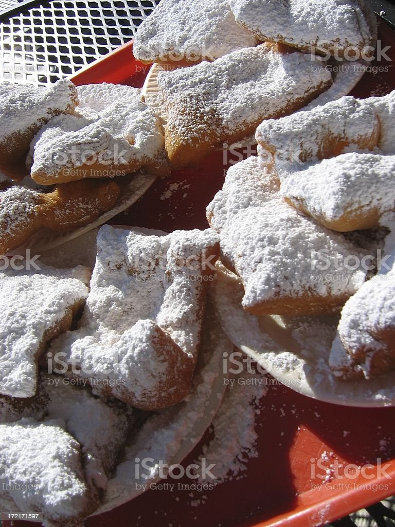 Beignets from New Orleans stock photo