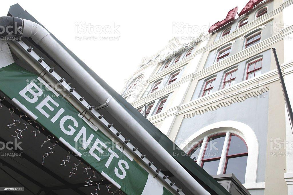 beignets stock photo