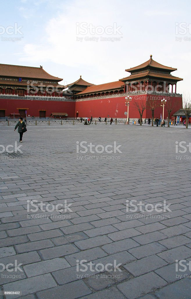 Beijing afternoon royalty-free stock photo