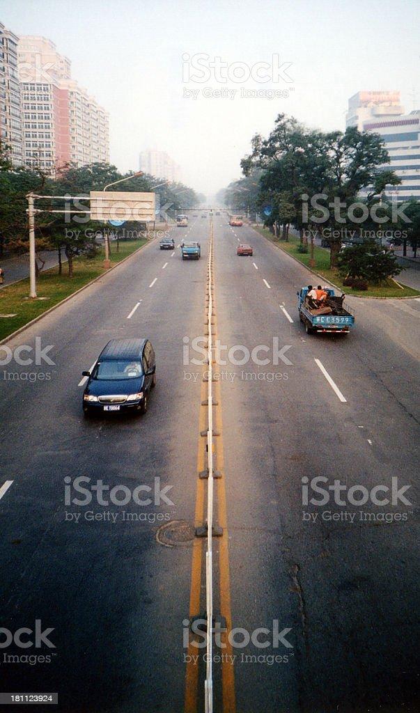 Beijing Boulevard royalty-free stock photo