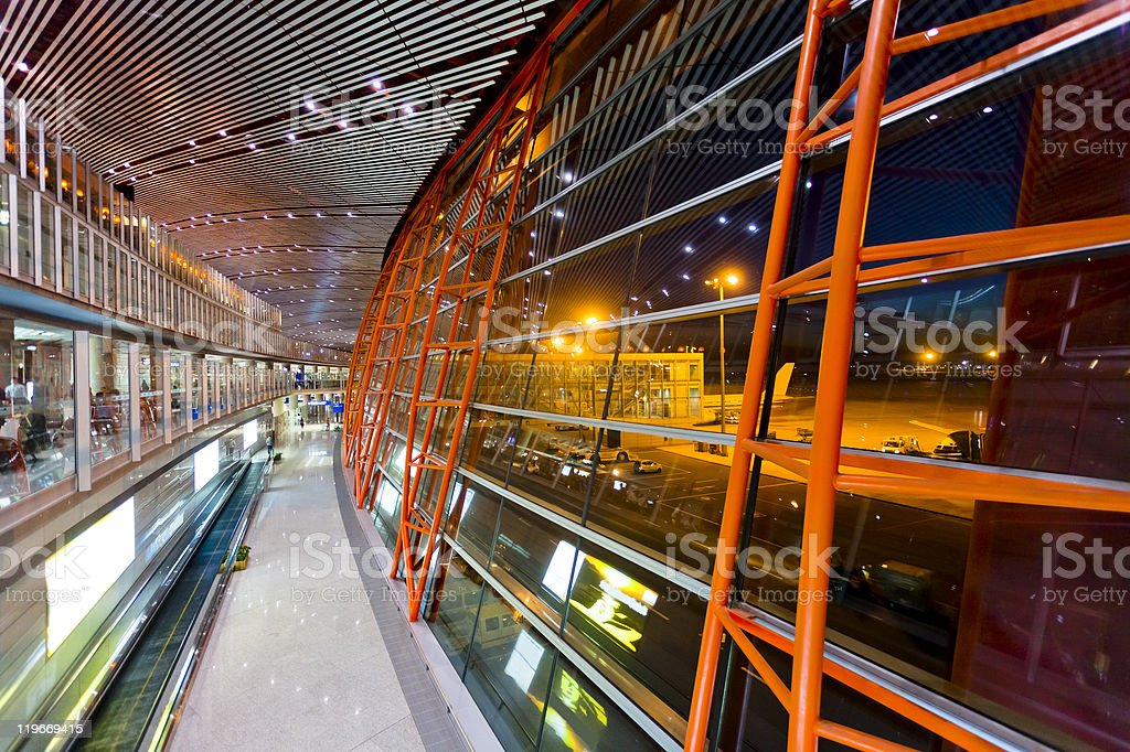Beijing Capital Airport t3 royalty-free stock photo